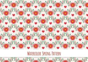 Gratis Vector Watercolor Pattern