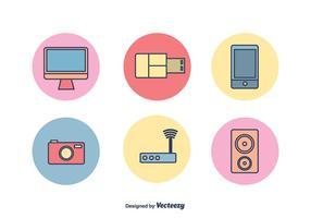 Tecnologia Vektor-Icons