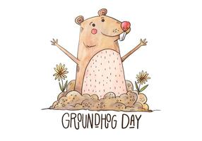 Vector-groundhog-day-illustration