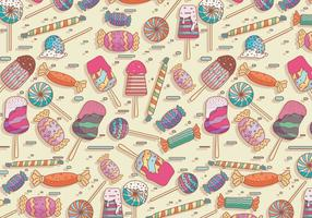 Toffee Pattern Vector