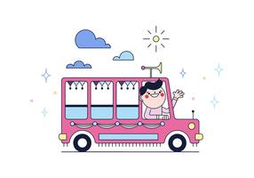 Vector Jeepney gratuit