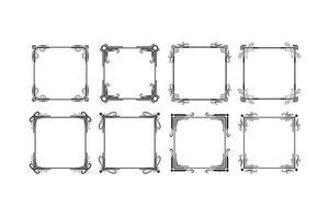 Set de cadres Vecteurs