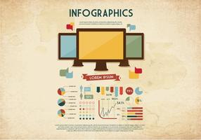 Monitor Graphics Vector