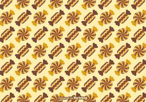 Free Toffee Vector Background