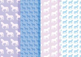 Vector Patterns Cavalos