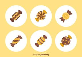 Gratis Toffee Vector Icons
