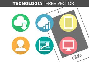 tecnologia vettoriali gratis