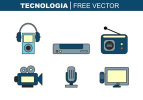 Tecnologia Vector grátis