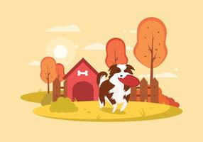 Gratis Border Collie Illustratie