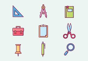 Free Stationery Vector