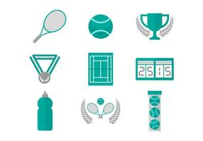 Gratis Tennis Vector Icons