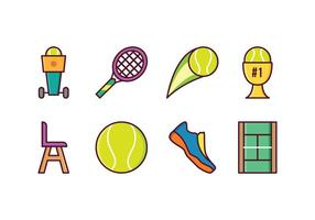 Gratis Tennis Icons