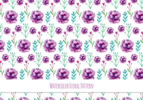 Cute Free Vector Floral Pattern