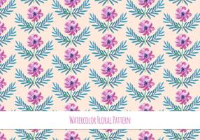 Spring Floral Pattern Free Vector