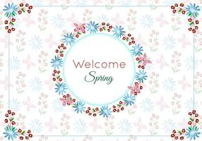 Free Vector Frames With Floral Pattern