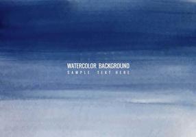 Gratis Vector Blue aquarel achtergrond