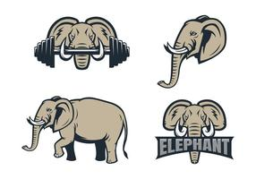 Fri elefant vektor