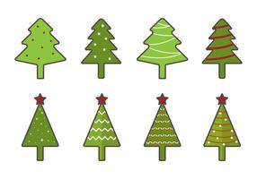 Livre Vector Árvore de Natal