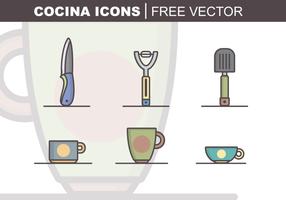 Cocina de vectores libres
