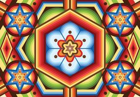 Huichol vector patrón