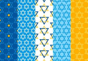 Star Of David Patterns Vector
