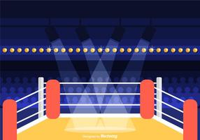 Free Wrestling Ring Vector Illustration