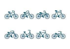 Bicicleta Ikon Vektor