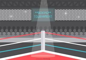 Gratis Vector Wrestling Ring Illustration