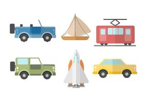 Free Transportation Vector