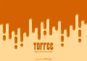Free Dripping Toffee Vector Background