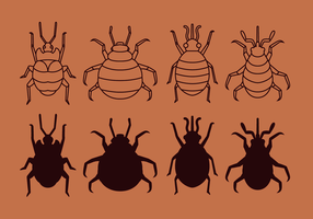 Bed Bug gratuit Vector