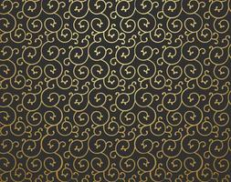 Golden Scrollwork Vector Background
