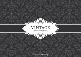 Vintage Vector Decorative Background