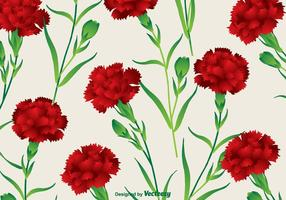 Carnation-vector-background