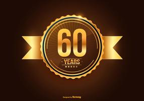 Illustration du 60e anniversaire