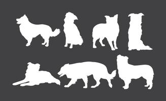 Free Border Collie Icons Vector