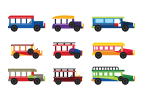 Vecteur jeepney