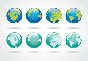 Vector libre de Globus