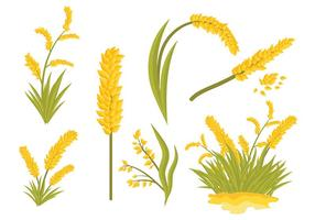 Free Sea Oats Icons Vector