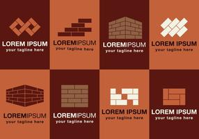Masonry Logos Set vector