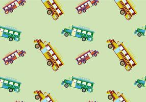 Free Jeepney Vector Illustration