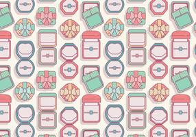 Ring Box Top View Vector