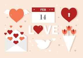 Vector-valentine-s-day-elements