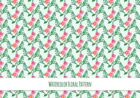Free-vector-pattern-with-floral-theme
