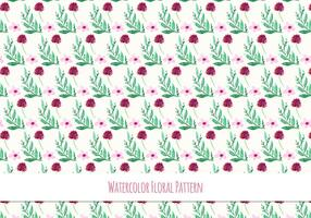 Free-vector-watercolor-pattern