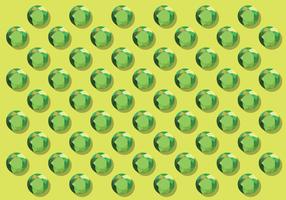 Sfondo verde con strass