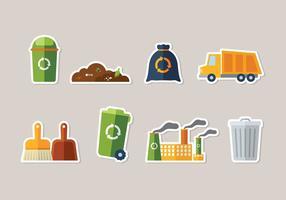 Landfill vecteur libre