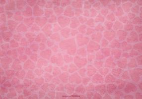 Textured Heart Background vector