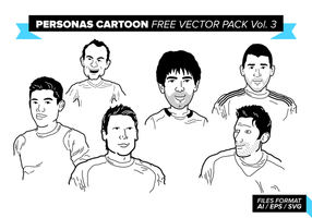 Personas Cartoon Free Vector Pack Vol. 3