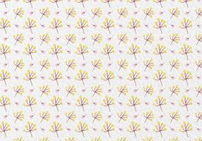 Free Vector Watercolor Flowers Pattern